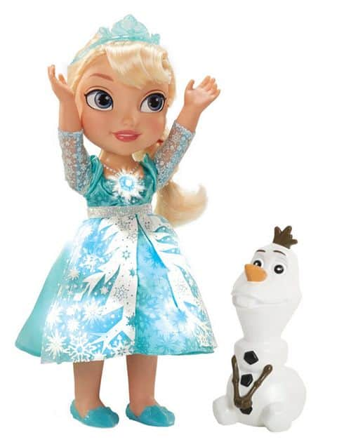 Frozen Snow Glow Elsa Doll from frozen