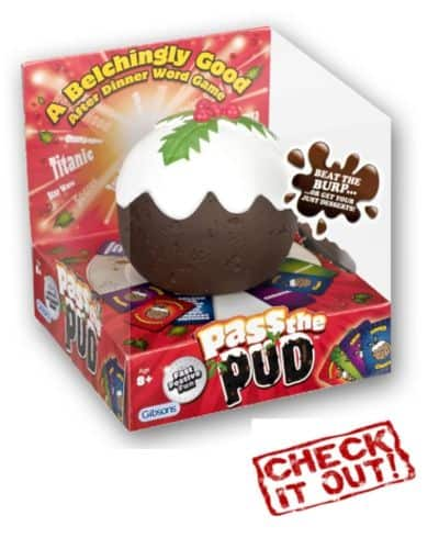 Pass the Pud Family Christmas Game