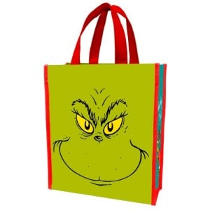 The Grinch Christmas Shopping Bag