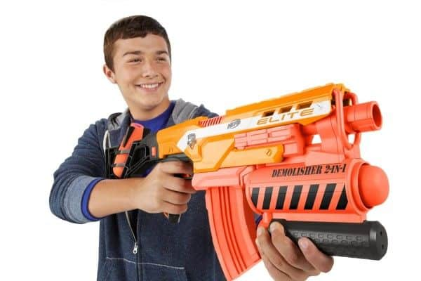 Walmart Toy Guns For Boys : Nerf demolisher most wanted christmas gift for boys