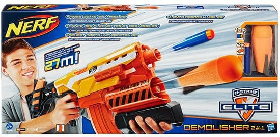 nerf demolisher for boys 2017