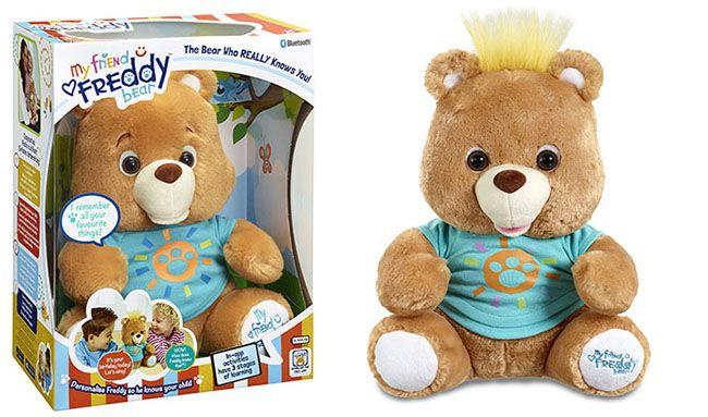 My Friend FreddyTeddy bear top ten christmas toys 2015