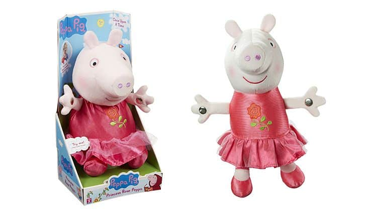 Peppa Pig Once Upon A Time Princess Rose Doll Christmas toys 2015