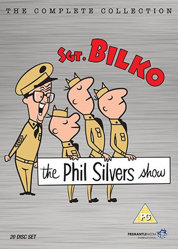 the phil silvers show sgt bilko complete dvd collection