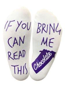bring me chocolate socks chocolate