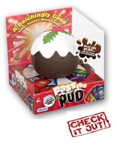 Pass the Pud Family Christmas Game