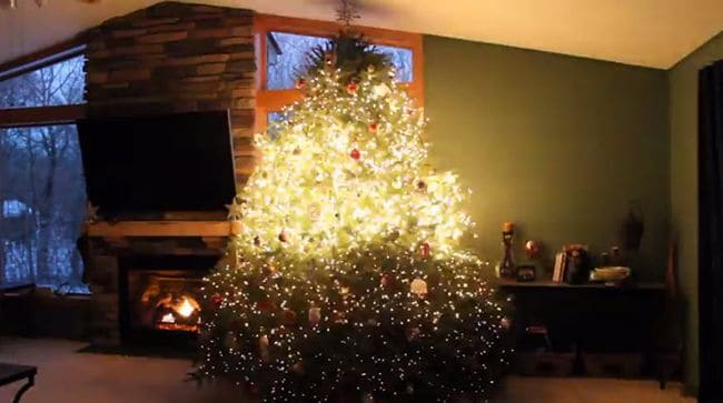 christmas tree lights christmas crackered