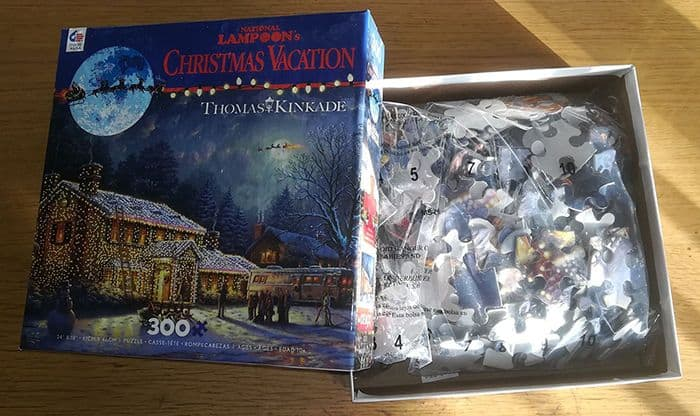 Christmas Vacation Jigsaw Puzzle Inside