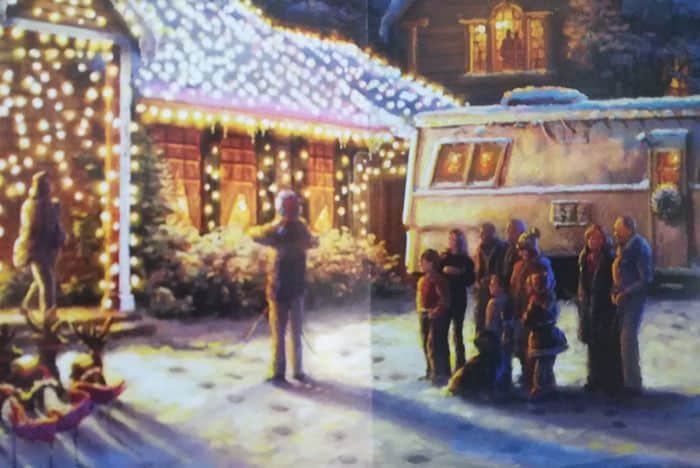 Clark Griswold Christmas Vacation Jigsaw Puzzle