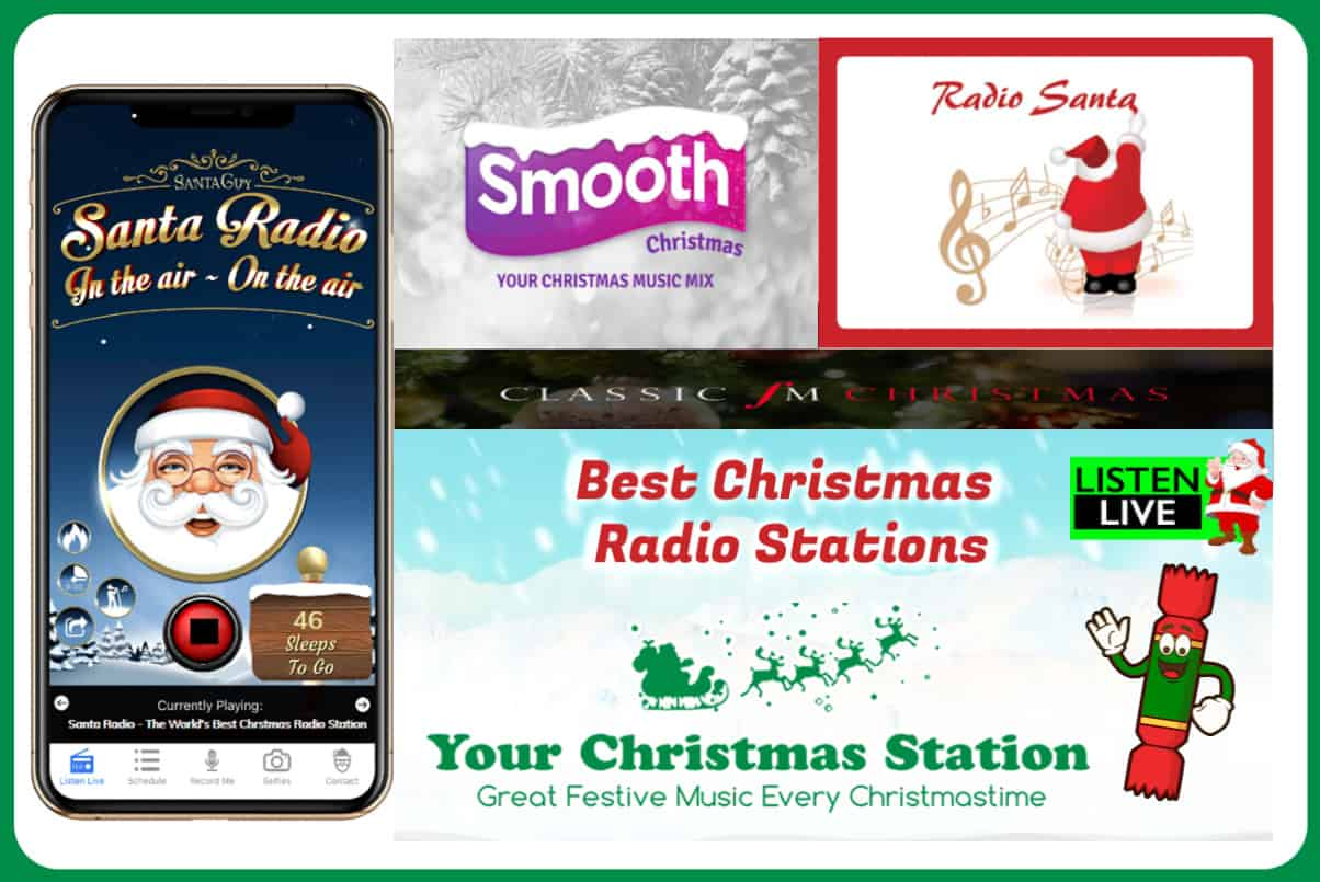 The Best Christmas Radio Stations Online