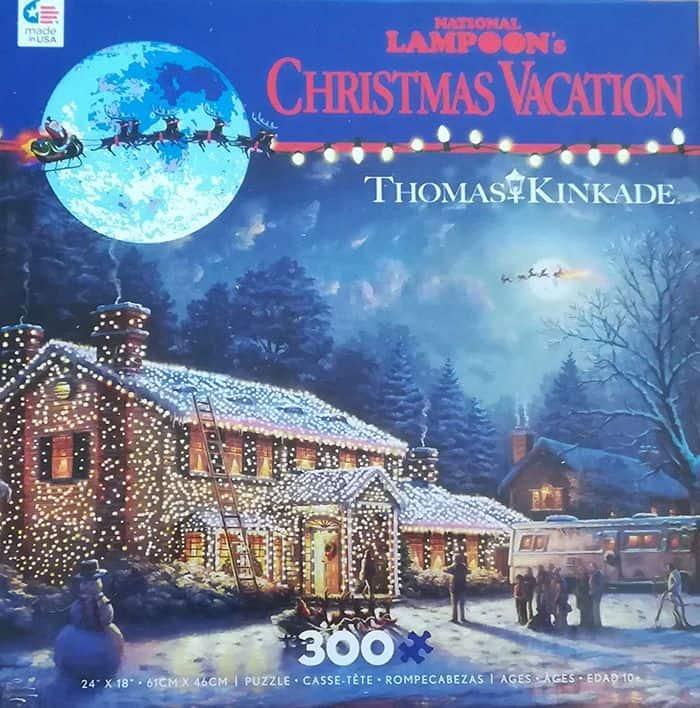 Thomas Kinkade Christmas Vacation Puzzle 300