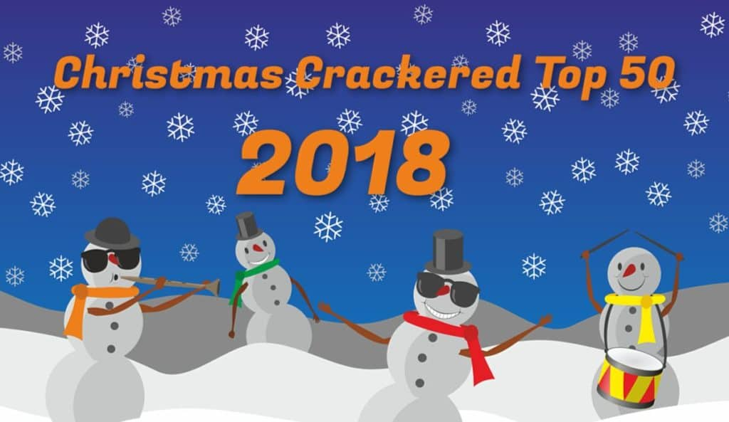 christmas crackered top 50 2018