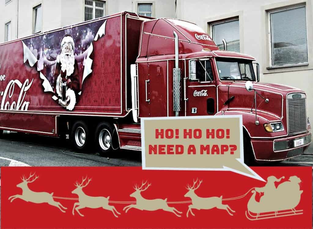 coca cola truck uk christmas dates 2018
