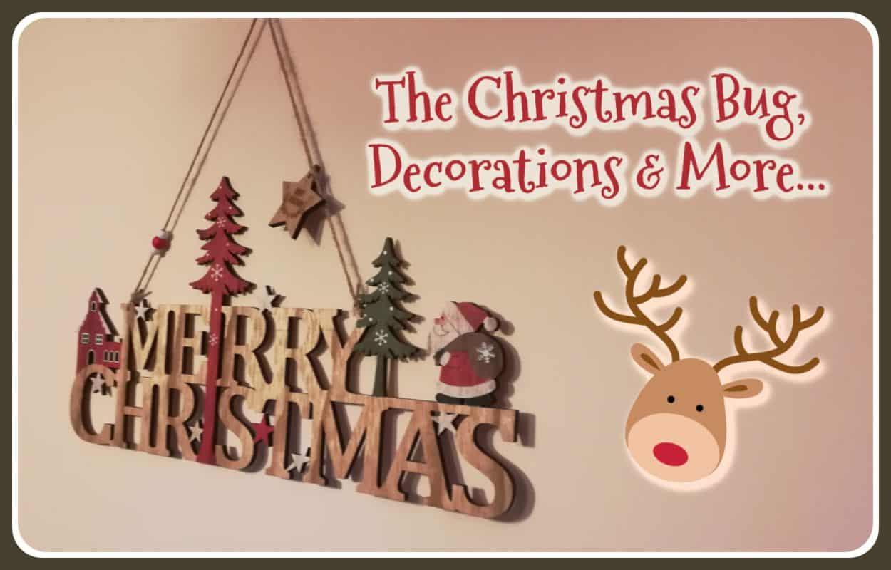 The Christmas Bug with Christmas Decorations