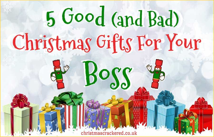 Christmas Gifts for Your Boss
