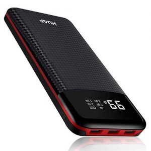 HUAF Portable Charger Power Bank 24000mAh High Capacity External Battery
