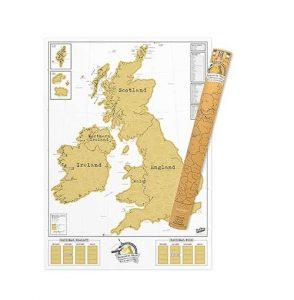 UK Scratch Map